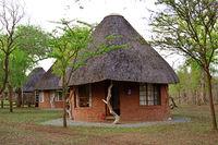 Ndlovu Camp , Hlane Royal Nationalpark , Swasiland, Afrika