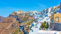 Fira in Santorini