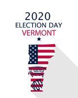 2020 Vermont vote card