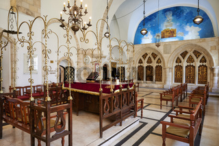 Jerusalem Israel. The four sephardic synagogues