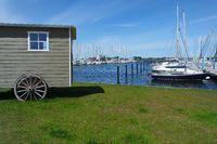 Insel Fehmarn, am Yachthafen