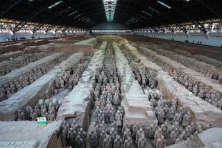 xian terracotta warriors and horses
