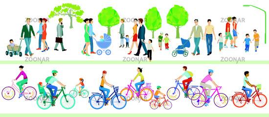 Rad und Familie .eps