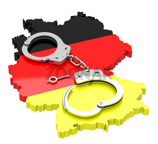 handcuffs on germany