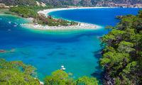Blue lagoon in Oludeniz
