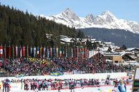 Teamsprint Cross Country FIS Nordische Ski-WM 2019 Seefeld