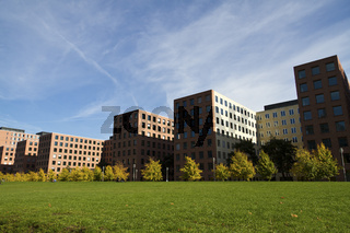 Moderne Architektur am Potsdamer Platz in Berlin - Modern Architecture at the Potsdam Square in Berlin