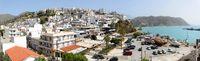 Panorama von Agia Galini auf Kreta
