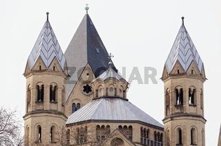 Romanische Basilika der St Apostel in der Kölner Altstadt