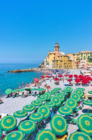 Beach in Camogli