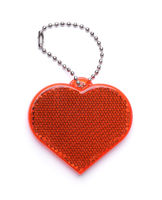 Heart shaped safety reflector
