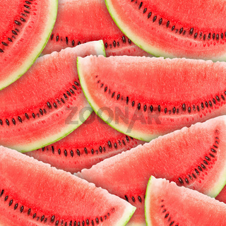 red watermelons