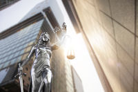 Lady Justice Statue City