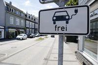 Freies Parken für E-Autos