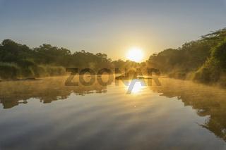 Olare Orok river at sunrise