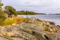 Baltic sea coast Sweden