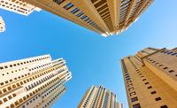 Multistory apartment buildings