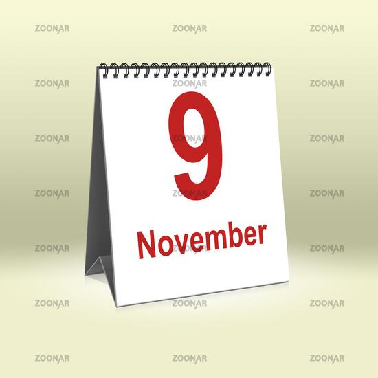 November 9th | 9.November