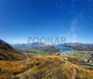 Queenstown, Lake Wakatipu, Südinsel, Neuseeland, Ozeanien.