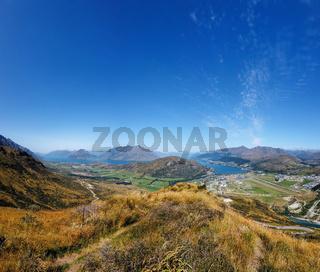 Queenstown, Lake Wakatipu, Südinsel, Neuseeland, Ozeanien.