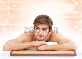 man massage