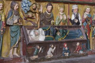 Grab der Heiligen Elisabeth, Marburg