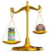 scales with vaccine and coronovirus