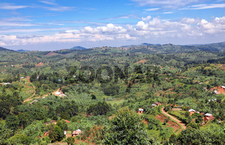 Landschaft Süd-Uganda, nahe Kanungu | Landscape at Southern Uganda, near Kanungu