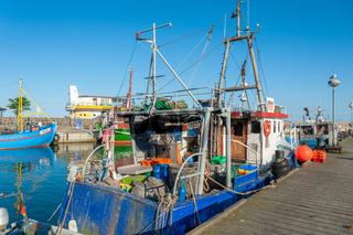 Fischereihafen in Sassnitz