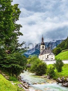 Pfarrkirche Sankt Sebastian in Ramsau im Berchtesgadener Land