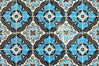 arabisches marokkanisches Fliesenmotiv