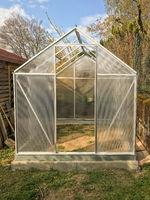 Gartenhaus im Bau