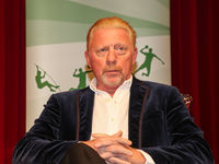 ehemaliger deutscher Tennisspieler Boris Becker bei einer Veranstaltung am 14.10.2020 in Dessau