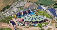Rulantica Wasserpark Neubau beim Europapark in Rust während des Corona Lockdowns