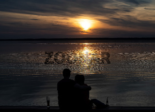 Steinhuder Meer, Abendstimmung
