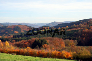 Sauerland im Herbst, Deutschland