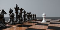 Chessmen Courage And Demonstration Of Power