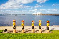 Geelong Waterfront on a Summer's Evening