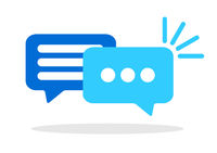speech bubbles conversation symbol