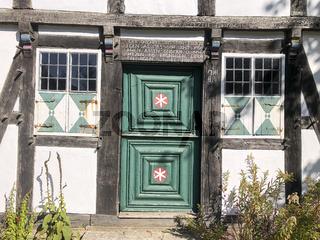 historisches Fachwerk-Bauernhaus