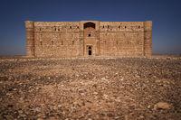 Wüstenschloss Qasr Kharana in Jordanien