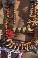 Naga Tribal accessories, Hornbill festival, Nagaland, India