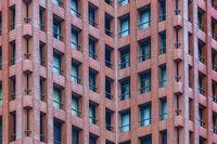 Modern Building Detail View, Tokyo, Japan