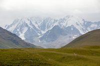 Chok-tal mountain. Tien Shan, Kyrgyzstan