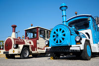 Tourist train adventure. Torrevieja, Spain