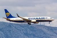 Ryanair Boeing 737-800 Flugzeug Flughafen Athen in Griechenland