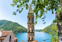 Belltower in Perast