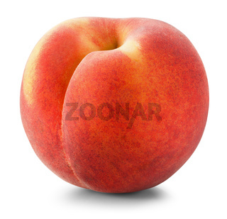 Ripe peach
