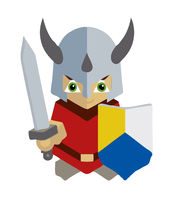 little knight mascot