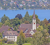 Katholische Kirche St. Blasius Mammern, Kanton Thurgau, Schweiz